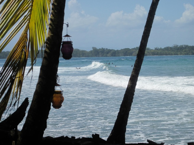 Surf break directly in front of The Firefly